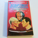 Star Trek The next generation The Captain's honour paperback book David Dvorkin
